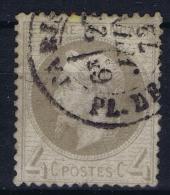 France: 1863 Yv Nr 27 Used Obl - 1863-1870 Napoleon III Gelauwerd