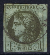 France: 1870 Yv Nr 39 A Used Obl - 1870 Uitgave Van Bordeaux