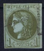 France: 1870 Yv Nr 39 C Used Obl - 1870 Emission De Bordeaux