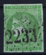 France: 1870 Yv Nr 42 B Used Obl   Signed/ Signé/signiert/ Approvato - 1870 Emission De Bordeaux