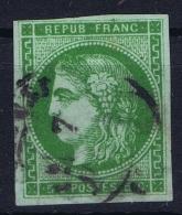 France: 1870 Yv Nr 42 B Used Obl - 1870 Emission De Bordeaux