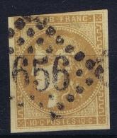 France: 1870 Yv Nr 43 Used Obl - 1870 Emission De Bordeaux