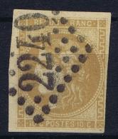 France: 1870 Yv Nr 43 Used Obl    GC 2240 - 1870 Emission De Bordeaux