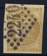France: 1870 Yv Nr 43 Used Obl    GC 2240 - 1870 Uitgave Van Bordeaux