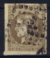 France: 1870 Yv Nr 47 Used Obl - 1870 Uitgave Van Bordeaux
