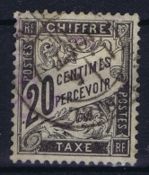France: Chiffre Tax Yv Nr 17 Used Obl - Postage Due