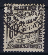 France: Chiffre Tax Yv Nr 21 Used Obl - Postage Due