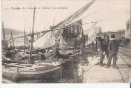 MARSEILLE 21 LES PECHEURS DE SARDINES (LEI SARDINAOU)  1906 - Old Professions
