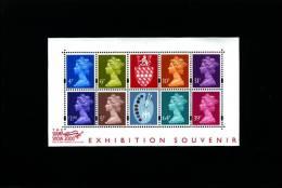GREAT BRITAIN - 2000  MATTHEWS  MS  MINT NH - Blocks & Miniature Sheets