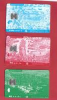 3 RARE USED PHONECARD FROM MALTA -  BARGAIN - 2003 - Malta