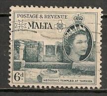 Timbres - Malte - 1956 - 6 D. -