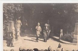 Photocarte Allemande - KAISER Et Sa Femme Soldats Allemand 1916 (EST De La FRANCE)(guerre14-18)2scans - War 1914-18