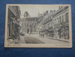 Louviers  Rue Du Marechal Foch - Tabac, Station Essence, Café Du Parvis - Automobiles - Cap 75 - écrite 1946 - L196 - Louviers