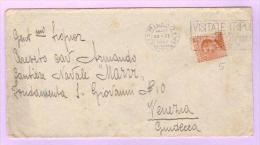 22 Nov 1927 - Lettera Da Milano A Venezia - Sassone 205 - Marcophilia