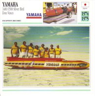 Yamaha 1500 Silver Bird Record Breaker   -  1974  -  Don Vesco     -   Fiche Technique Moto (Course) - Autres