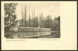 PONS Rare Le Collège Le Bassin De Natation (Giraudet) Chte Maritime (17) - Pons