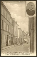 PONS Rue Gambetta Portrait E. Combes (Braun) Chte Maritime (17) - Pons
