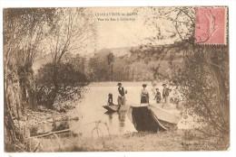 CPA 38 CHARAVINES Barques Lac De Colletiere - Charavines
