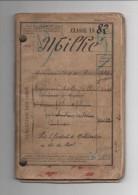 11 THEZAN LES CORBIERES - FASCICULE DE MOBILISATION D'UN HABITANT DE THEZAN EN 1882 - Historical Documents