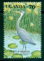 Ouganda/Uganda 1991 Yt.713/28 - Hors Série: Mnh*** - Aves Gruiformes (Grullas)