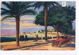 CPA (06 ) CANNES - Promenade De La Croisette - Animée,Voiture- (049) - Cannes