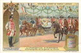 CHROMO LIEBIG - Garde Du Corps - Garde Du Corps De L'Impératrice D'Allemagne N° 1 - Série Française N° 933 - Année 1908 - Liebig