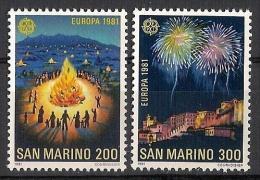 EUROPA - CEPT 1981 - San Marino - 2V NEUFS *** // MNH - Europa-CEPT