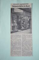 Coupure De Presse 1960  Parfumerie Amblard RIOM  Puy De Dôme 63 - Historische Documenten