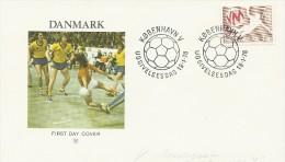 Men`s Handball World Championship 1978.  Fdc.  Denmark.  H-392 - Handball