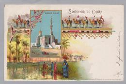 AK Afrika Aegypten Caire 1899-01-09 Litho Stab. Armanino - Le Caire