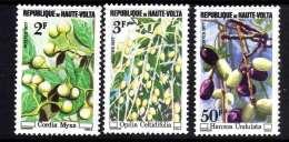 Haute-Volta N° 421  / 23 XX  Fruits Sauvages : Les 3 Valeurs Sans Charnière, TB - Upper Volta (1958-1984)