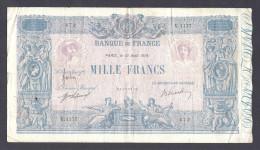 1000 Francs BLEU ET ROSE FRANCE 13 Août 1918 F.36.32 - 1871-1952 Anciens Francs Circulés Au XXème