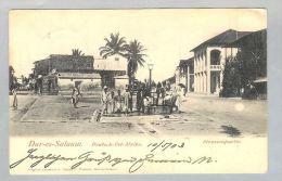 AK Afrika Tansania Dar-es-Salam 1903-05-10 Fotokarte - Tanzanie