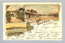 AK Afrika Tansania Deutsch-Ostafrika Saadani 1901-05-02 Litho B.Bürger#113 - Tanzania