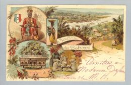 AK Afrika Dahomé 1903-06-24 Litho Dahomé (Bug) - Dahomey