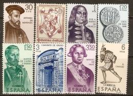 1966 EDIFIL 1750/7 **  SIN FIJASELLOS - 1931-Today: 2nd Rep - ... Juan Carlos I
