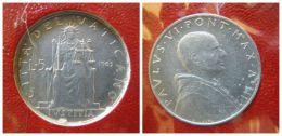 B 218018) VATICANO PAOLO VI LIRE 5 DEL 1965 FDC UNC - Vatican