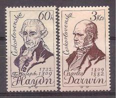 Czechoslovakia 1959  - Haydn And Darwin - Czechoslovakia