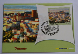 ITALIA 2015 - TURISTICA , TRICARICO , OFFICIAL MAXICARD - Maximumkarten (MC)