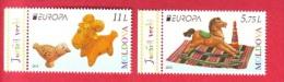 Moldova, Set 2 V., Europa / CEPT - Toys, 2015 - Moldavie
