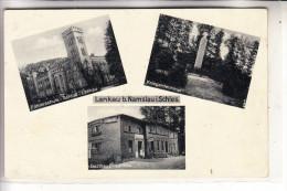 SCHLESIEN - OBERSCHLESIEN - LANKAU Bei NAMSLAU / NAMYLOW, Kriegerdenkmal, Gasthaus, Führer-Schule NS - Schlesien