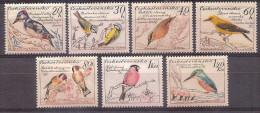 Czechoslovakia 1959  - Birds - Czechoslovakia