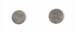 C 011004) AUSTRALIA SIX PENCE 1957 BB ELISABETTA II° ARGENTO - Sixpence