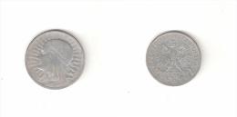 C 154001) POLONIA POLSKA 2 ZLOTE 1933 ARGENTO - Pologne