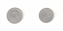 C 154001) POLONIA POLSKA 2 ZLOTE 1933 ARGENTO - Polen