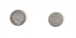 C 146003) OLANDA NEDERLAND 10 CENTS 1941 MB WILHELMINA ARGENTO - [ 8] Monete D'Oro E D'Argento