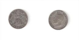 C  187010) SUD AFRICA SOUTH AFRICA SIX 6 PENCE 1925 GEORGIUS V° ARGENTO - Sud Africa