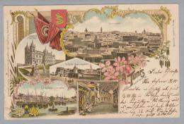 AK Afrika Tunesien Tunis 1901-07-31 Litho W.Knorr #170 - Tunisie
