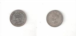 C  187015) SUD AFRICA SOUTH AFRICA SIX 6 PENCE 1941 GEORGIUS VI° ARGENTO - Sud Africa