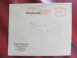BRIEF Frankotype Freistempel HAMBURG 1930 Cohrs  /// T2231 - Deutschland
